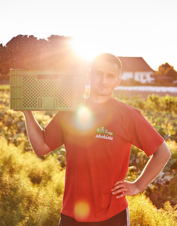 Regionale Bio-Lebensmittel frisch vom Bauern
