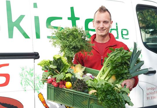 Lieferservice Bio-Lebensmittel aus der Region