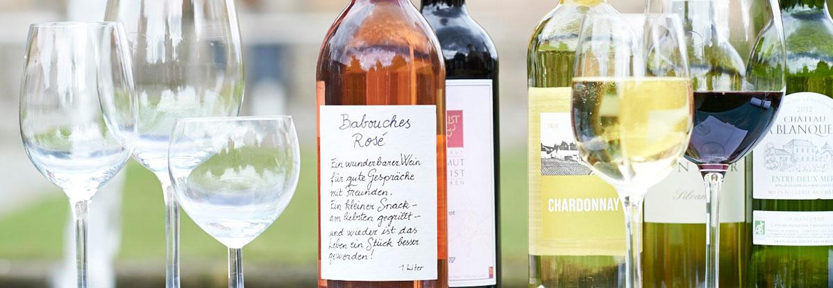Bio-Wein bestellen und nach Hause liefern lassen